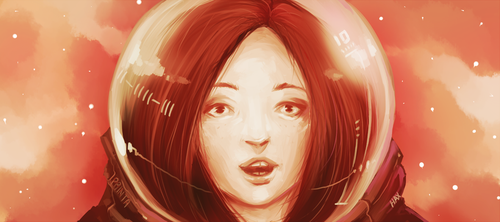 Astronaut by HaxPunch