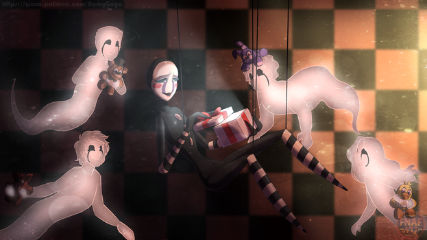 FNAFNG_The gift of life REDRAW by NamyGaga