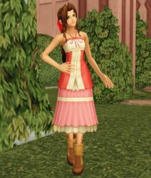 Aerith KH2 for XNALara by LexaKiness