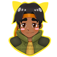 Hunk Chibi Sticker by Serina67