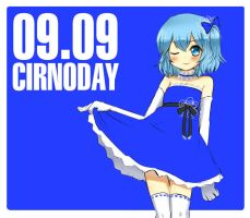 cirno day by kata-009