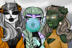 Ghoul Friends by egoetrexmeus
