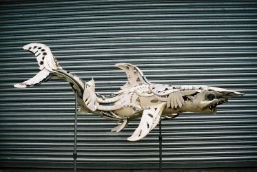 Great White Shark by HubcapCreatures