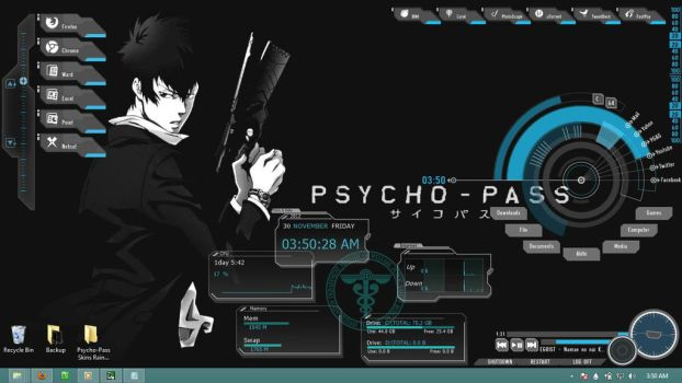 Psycho-Pass by kareyare