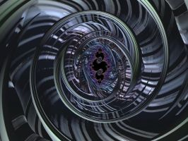 Big Wheel Fractal by laughingtube
