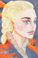 Mother of Dragons by heycheri