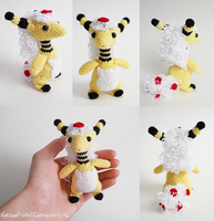 Mega Ampharos by TheSmall-Stuff