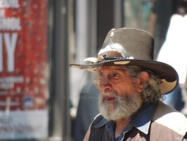 old cowboy by amitm123