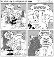 Wilfreda the Wanna-Be Witch e169 by megawackymax