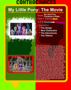 Controchoices - My Little Pony The Movie by FireMaster92