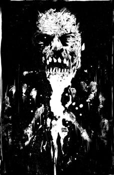 Zombies - 2 Back Cover INKS by thisismyboomstick