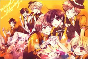 Ouran Magic postcard by mixed-blessing
