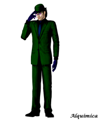 Riddler by Alquimica