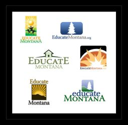 Educate Montana Logo Designs by ecpowell