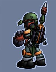 kwinz's Boba fett colored by shalomone