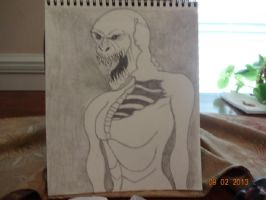 grendel beowul drawing by KPRITCHETT14