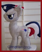 mlp plushie Commissions OPEN Sports Patriots by CINNAMON-STITCH