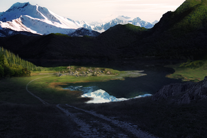 Carvahall - Matte Painting by JonnyMars