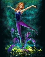Dance of colours by anka-kokos