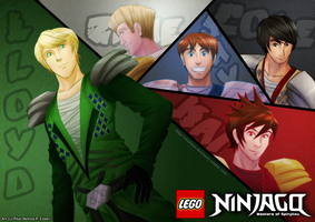 Ninjago: Masters of Spinjitsu by witch-girl-pilar