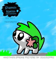 Another Spring Pic DO NOT FAV by ShayminNation