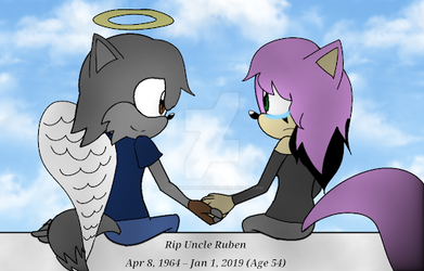 I Will miss you Uncle Ruben the wolf by QueenEmilythedemon