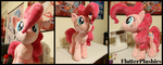 First new plushie in ages... Pinkie Pie! by FlutterPlushies