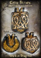 Celtic Male armor : purses by Deakath