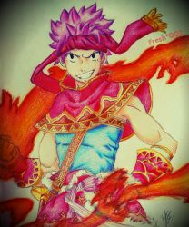 Natsu - Fired up! by Fresh002