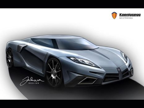 Koenigsegg Concept 2008 by Jakusa1