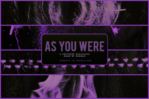 As You Were Texture Pack by ErenaeErae