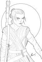 Rey by KevinG-art