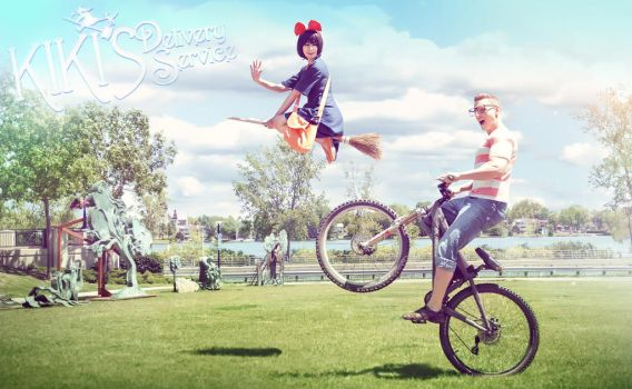 Kiki and Tombo! by Reign-Cosplay