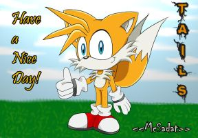 Tails new version by McSadat