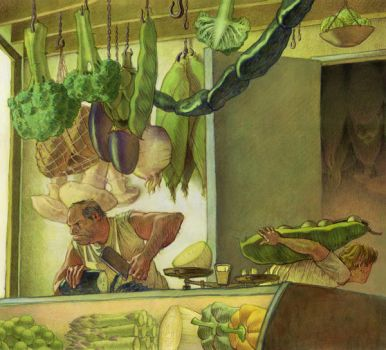 The Vegetable Butcher by mlauritano