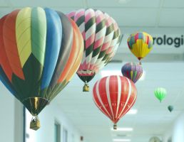 Balloons in the Hospital by deaconZR