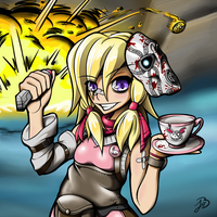 Tiny Tina's Tea Party by BizarreJuju