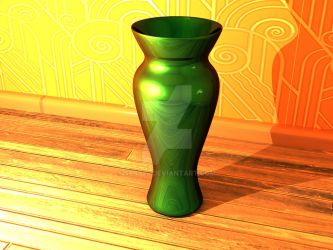 The Green Vase by SeBy24