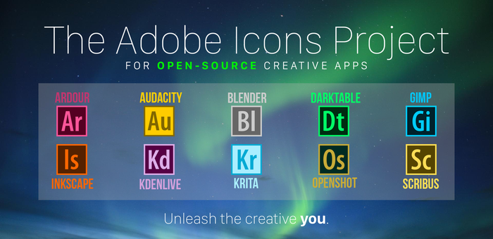 The Adobe Icons Project by RohitAwate