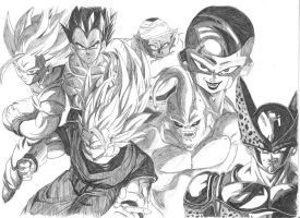 Dragon Ball Z Forever by GrimmjawJack