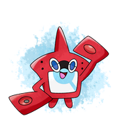 ROTOMDEX - POKEDEX ROTOM SUN AND MOON by Alexalan