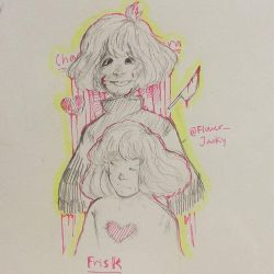 CHARA AND FRISK by TJACK2345