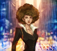 Afro Girl by Magochocobo