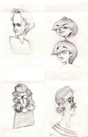 floating heads 1 by HylianMogget