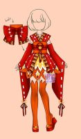 [closed] Auction adopt Outfits famale kimono (163) by YuiChi-tyan