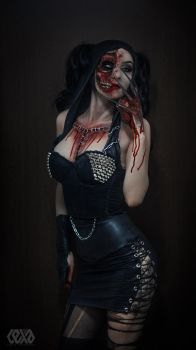 Torn Dominatrix by psychicLexa