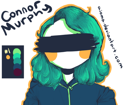Palette Challenge: ft. smol sad Connor Murphy by Aioma