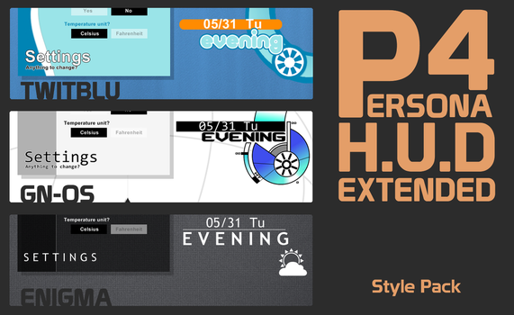 P4 HUD Extended - Style Pack by iron2000
