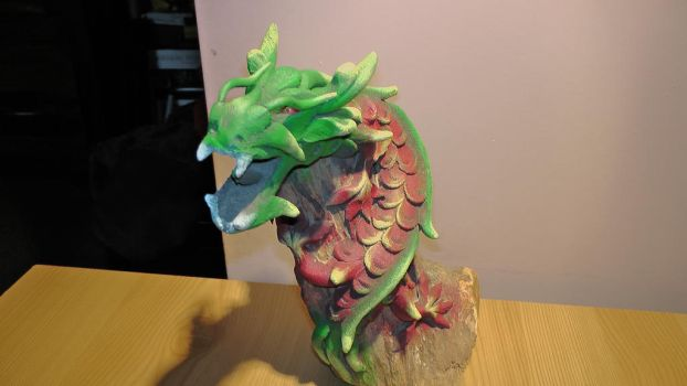 Dragon Statue by dragonfire70