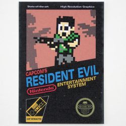 Resident Evil - Retroactive by arcade-art